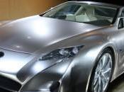 Lexus LF-A Nouvelle vidéo espion