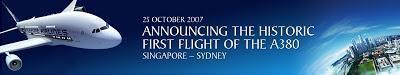 Visitez l'Airbus A380 de Singapore Airlines