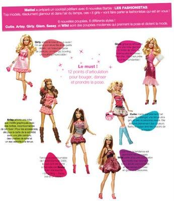Soirée DO the Barbie by Barbie Fashionistas!!!