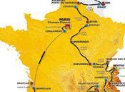 Vidéo Tour France 2010, tracé étapes