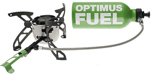 rechaud expedition optimus fuel