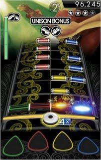 Rock Band disponible sur iPhone/iPod Touch