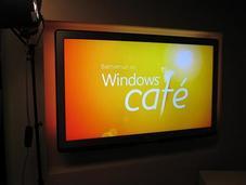 Lancement Windows Café Paris