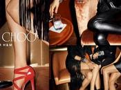 Jimmy Choo H&M; campagne photo teaser vidéo Terry Richardson
