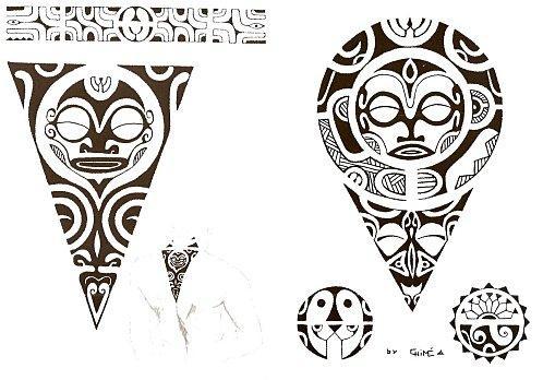 motif tatouage polyn sien paperblog. Black Bedroom Furniture Sets. Home Design Ideas