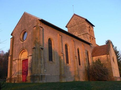 Vue générale sur la chapelle de Morlange