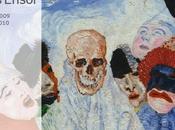 James Ensor (1860-1949), peintre graveur belge, musée d'Orsay