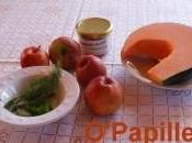Potiron pommes miel