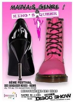 8eme Festival des Bisqueer Roses avec Gayvox.fr à Reims