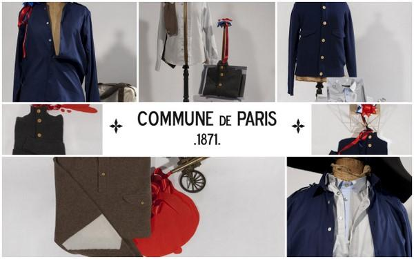 Post image for Commune de Paris : collection hiver et exposition au Bon Marché