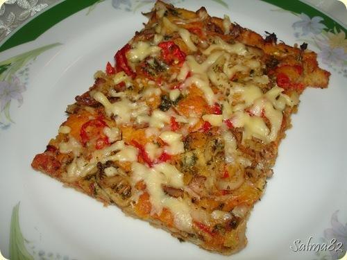 Pizza A Base De Pate Liquide Extra Moelleuse A Decouvrir