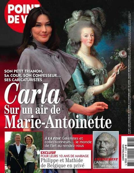 Carla sur un air de Marie-Antoinette