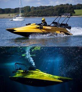 bateau sous marin