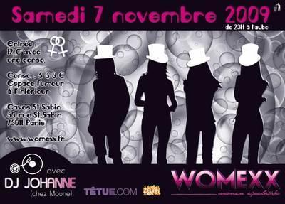 Sorties et Clubbing: Womexx soirée pour les femmes avec Gayvox.fr