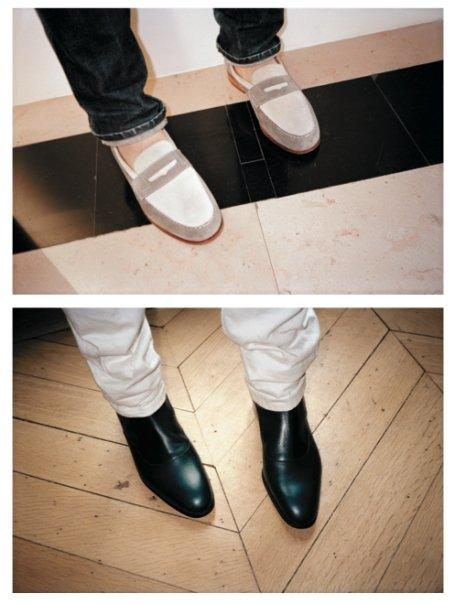 Post image for Kitsuné x Weston=Mocassin + Boots