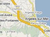carte d'Argeles