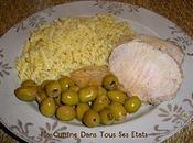 Rôti porc olives... cocotte