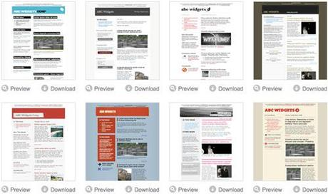 excellent html newsletter templates best of paperblog