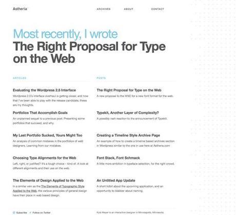 100+ Clean, Simple and Minimalist Website Designs