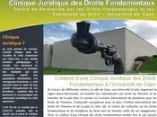 Ouverture d'une Clinique juridique droits fondamentaux (CRDFED Université Caen, novembre 2009)