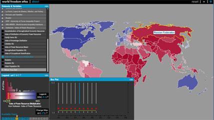 World Freedom Atlas
