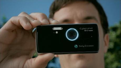 Sony Ericsson K850i: Spot publicitaire sur le mobile