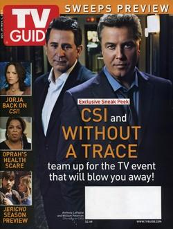 TV Guide - Anthony Lapaglia et William Petersen