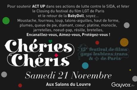Soirée Chéries- Chérie au profit de Act Up 20 ans !