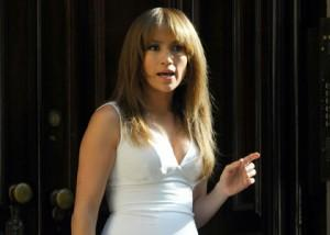 Jennifer Lopez Filming 'The Backup Plan' In New York City