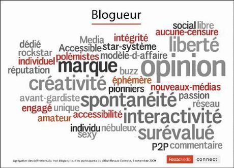 blogueur 0001 Journalistes VS blogueurs ? ou cest la même chose ? Ressac Connect