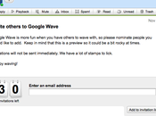 invitations pour Google Wave!