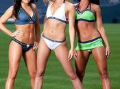 cheerleaders Seahawks Seattle