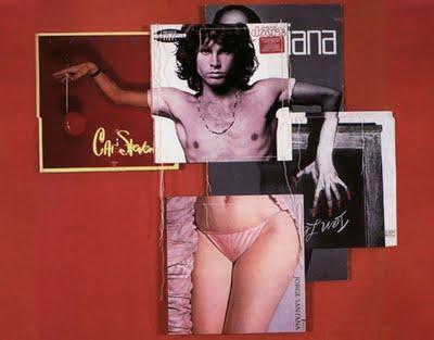 Photocollage de pochette d'album.