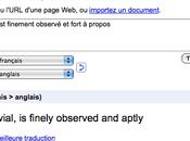 Google traduction fait parler rapidité