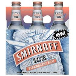 Smirnoff Ice Strawberry Acai