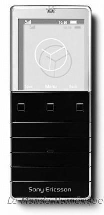 Mobile Sony Ericsson Xperia Pureness, pour revenir à l'essentiel