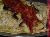 Wraps légumes thon