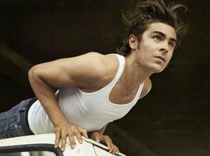 Making of et interview de Zac Efron pour GQ