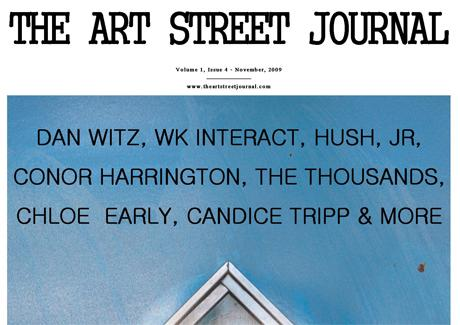 THE ART STREET JOURNAL – VOL.1 ISSUE 4