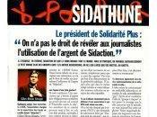 président Solidarité Plus droit révéler journalistes l'utilisation l'argent Sidaction. (Entrevue)