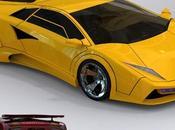 concept Lamborghini Countach l'energie renouvelable