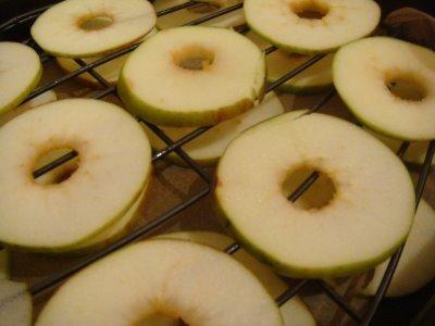 semaine du chocolat  et fins de pommes