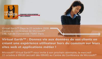 Séminaire Virtual Earth du 22/10
