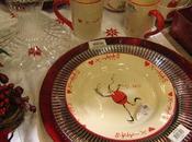 assiettes Noël originales idées pour dresser jolie table fête