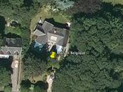 Voici j'ai habité Belgique google earth
