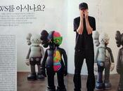 Kaws original fake black dissected companion