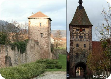 porte haute fortifications