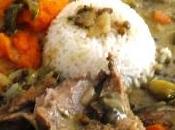 Rôti Dinde lait coco curry