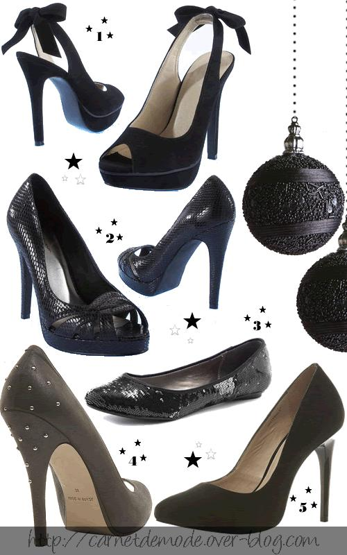 selection chaussures black