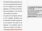 """Conférence """"ENTRETENIR NOTRE ENERGIE QUOTIDIEN"""""""